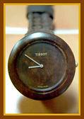 Tissot - Burly Walnut Wood Watch - W151 - Wristwatch (circa 1987)