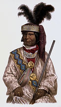 Billy Bowlegs - Seminole War Chief - portrait