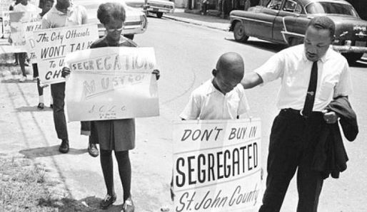 March against Segregation - St. Johns County