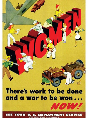 Women - There's Work to be Done and a War to be Won