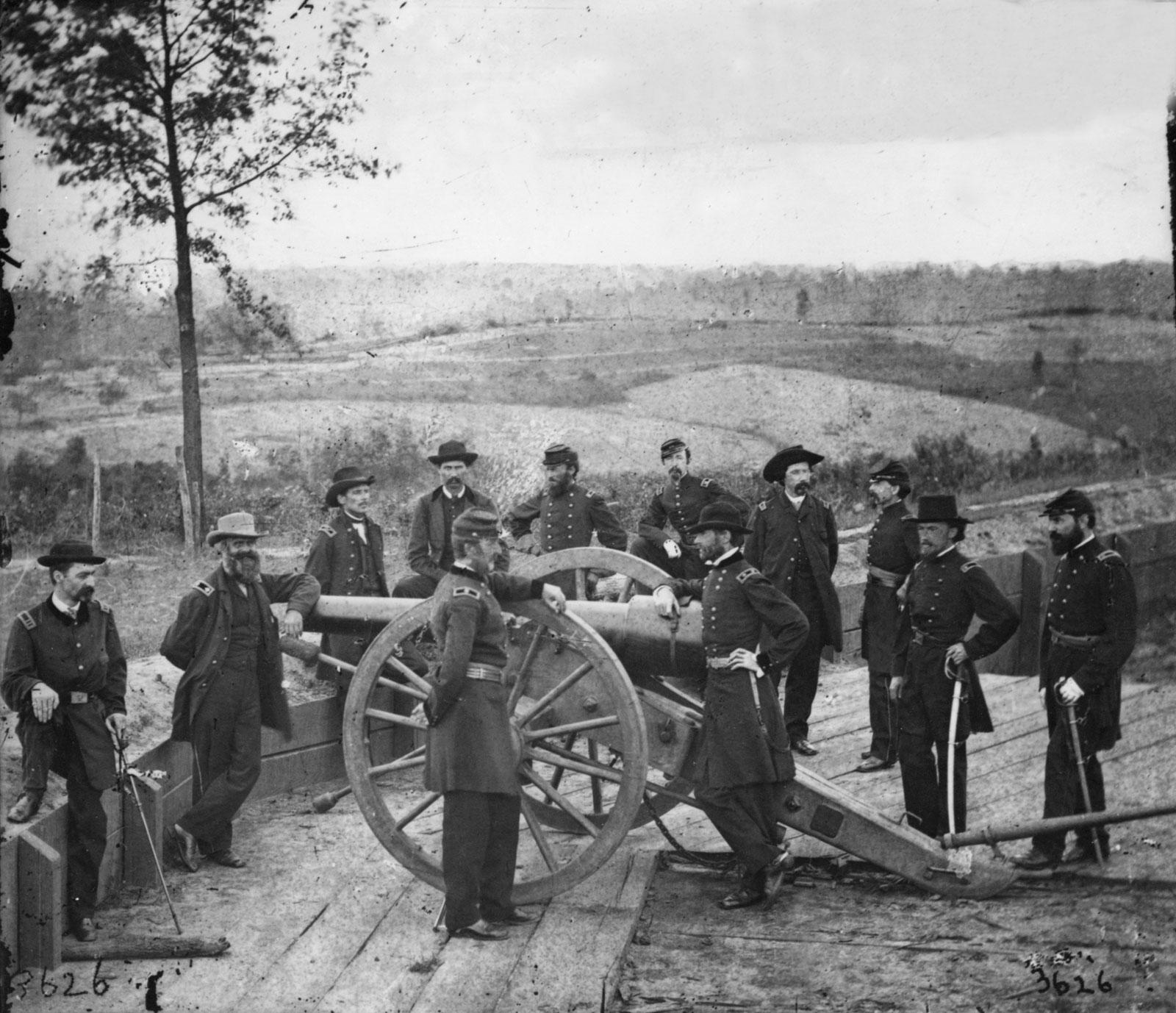 Gen. William T. Sherman - Battle of Atlanta