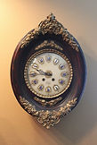 A Rollin - Ornate French Gallery - Wall Clock - (circa 1860)