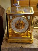 LeCoultre Atmos Clock - 24K plated case – (circa mid-1950s)