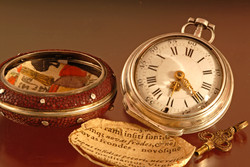 Early Lepine Paris - Fusee Pocket Watch.