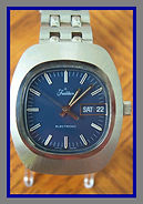 Tradition -  Made by Hamilton for Sears and Roebuck, the Battery Serves the Purpose of a Main Spring and the Balance Ticks Like a Mechanical Wind Wristwatch - (circa 1960s)