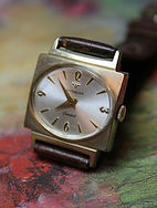 Wittnauer - Square 10K R.G.P. Case and Oval Dial - 17 Jewel Mechanical Movement Wristwatch - (circa 1960s)