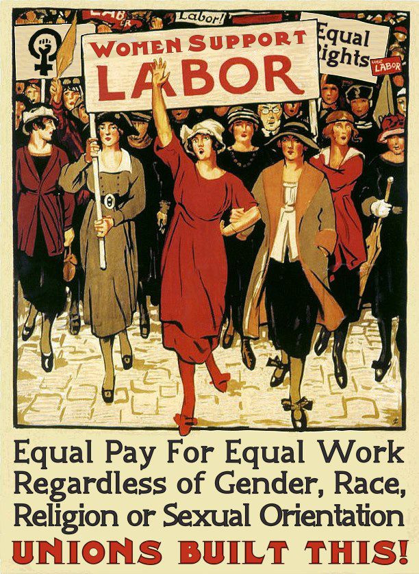 Women Support Labor - Unions Built This!
