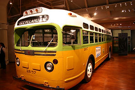 Rosa Parks bus in the Henry Ford Museum