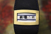 Alpha - Digitale - 17 Jewel Automatic - Hours, Minutes and Seconds Jump Hour Discs with Date Wristwatch - (circa 1960s)