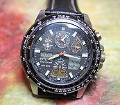 Citizen - Skyhawk - Eco-Drive - U600-S041341 HST - Radio Controlled Wristwatch - (circa 2012)