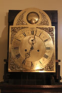 Thomas Miles - London, England - Arched Brass Dial - Tall Case Clock - (circa 1770)