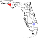 Bay County map.png