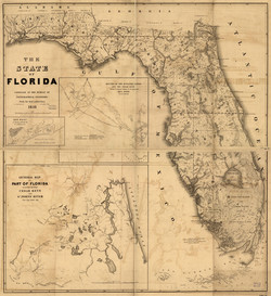 The State of Florida - Bruff, Joseph Goldsborough - 1846