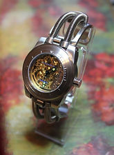 Android - AD520 Hydraumatic Skeleton Automatic All Stainless Steel Wristwatch - (circa 2014)