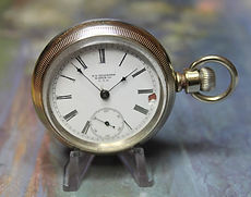 New York Standard - Open Face Swing-Out Case - 18 Size - 7j - Stem Wind and Set – Pocket Watch - (circa 1905)