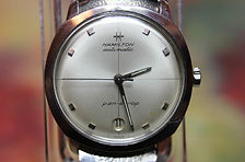 Hamilton - Pan-Europ - Automatic Movement, Round Date Window at the 6 o'clock position, all stainless steel Wristwatch - (circa 1960s)