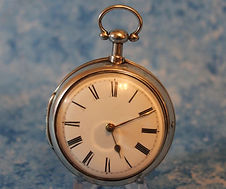 J. Brown - London - Verge Fusee - Silver Pair Case - Extremely Fine Cosmetic and Running Condition - Pocket Watch -(circa 1799)