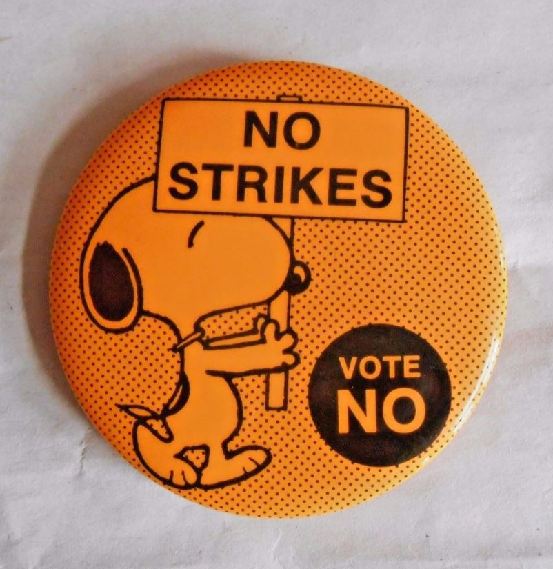 No Strikes - Vote NO