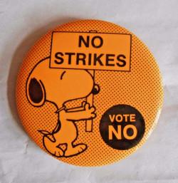 No Strikes - Vote NO