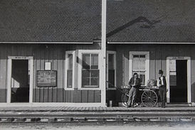 Bunnell, FL - FECR Train Station - segregated waiting rooms - ca. 1925