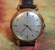 Hamilton - Rodney - 10K Gold Filled Case - Quad Dial - 18 Jewels - 748 Movement - Wristwatch - (circa 1954)