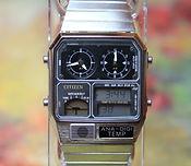 Citizen - Ana-Digi-Temp Wristwatch - Model JG2000-59E - (circa 1990s)
