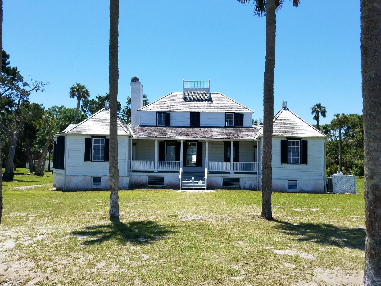 Kingsley Plantation - Main House - front view