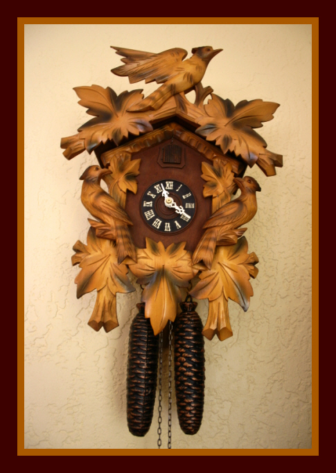 1950s Black Forest Cuckoo Clock