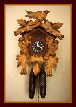 1950s Black Forest Cuckoo Clock