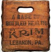 Krim of Lebanon, PA - old wood case - picture - LebTown.jpg