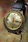 Vantage - Day-Date - Lebanon Senior High School, Lebanon, PA - 17 Jewel Mechanical Movement Wristwatch - (circa 1960s)