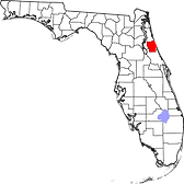 Flagler County map.png
