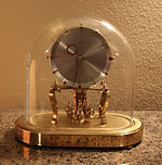 Kundo - 400 Day - Ball Pendulum - Oval Case - Clock - (circa 1960s)
