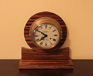 Emory & Douglas, Co., Ltd - English Ships Bells Clock - 8-Day Movement - Brass Case - (circa 1960s)
