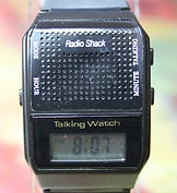 Radio Shack - LCD Talking Wristwatch - (circa 1970s)