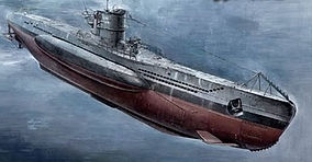 World War II German U-Boat - Type VII B