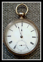 American Waltham - Broadway - Excellent Overall Condition, Key Set and Key Wind Mechanical Movement with a Coin Silver Open Face Case - Pocket Watch - (circa 1878)