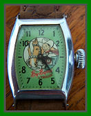 E. Ingraham Co. - Roy Rogers and Trigger Character Wristwatch in Phenomenal overall original condition - (circa 1955)
