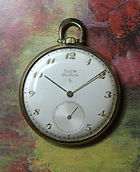 Elgin National Watch Co.- DeLuxe - Gorgeous 12 Size Pocket Watch - 17 Jewel with 5 Adjustments Elgin 542 Mechanical Movement - Pocket Watch - (circa 1949)