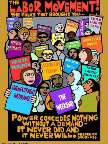 The Labor Movement - The Folks That Brought All of Many Benefits