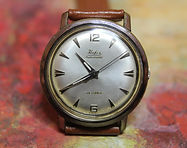 Hafis - Quality 25 Jewel SU 692 Automatic - Stainless Steel Case Wristwatch - (circa 1960s)