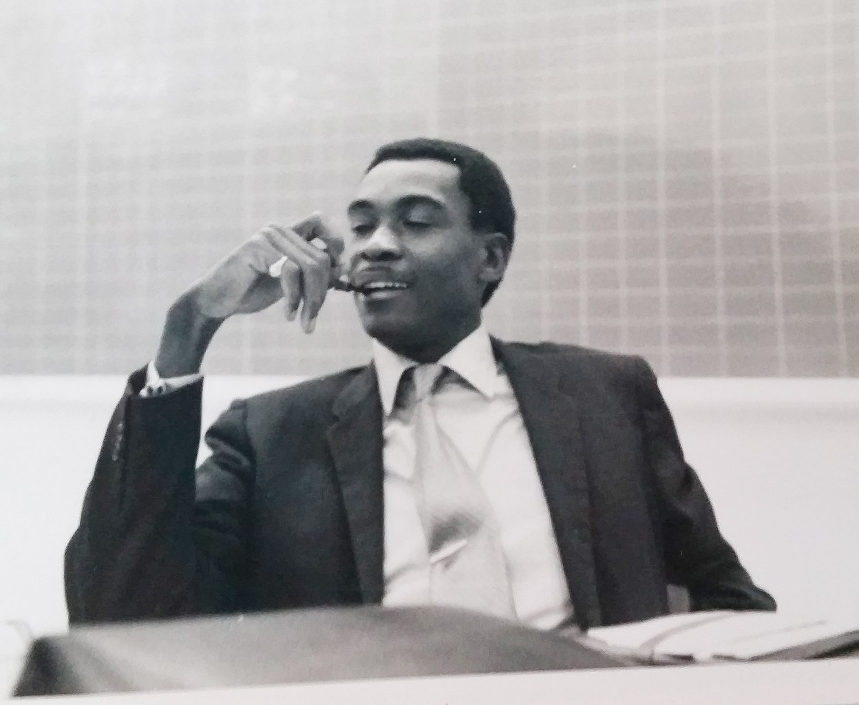 Arthur McDuffie - pictured in 1979