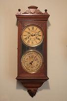 Jerome & Co. - Double Dial Perpetual Calendar Clock - (circa 1880s)