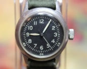 American Waltham - WW2 Hack Set Military - 16 Jewels Mechanical Wristwatch - (circa 1944)