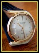 Ernest Borel - Monaco - Scarce HORSESHOE U Shaped 20 Micron Plated Gold Case, 17 Jewel Automatic Movement Wristwatch - (circa 1960s)