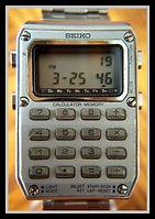 Seiko - Model C515-5009 - Very Scarce Space Age Calculator Wristwatch - (circa 1970s)