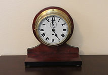 Empire - Ships Bells Clock - 8-Day Movement - Time Only - Made in England - (circa 1960s)