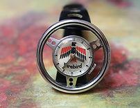 Firebird - Steering Wheel - Mechanical Wind Novelty Watch  in Excellent original condition - (circa 1970s)