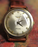 Longines - 10K Gold Filled - 17 Jewels - Automatic Mechanical Dress Wristwatch - (Circa 1956)