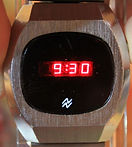National Semiconductor - LED (Light Emitting Diode) Wristwatch - (circa early 1970s)